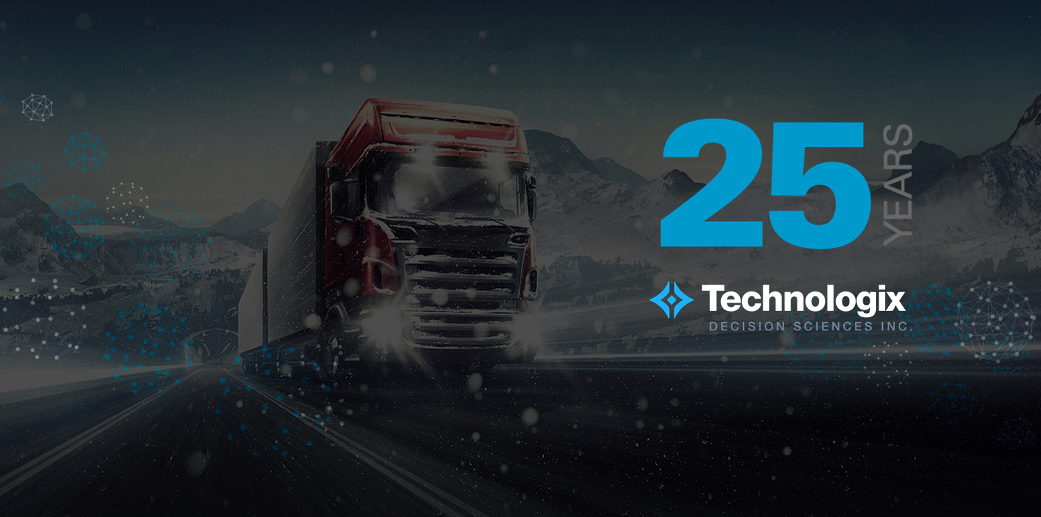 <em>Our first supply chain optimization solution is turning 25!</em>